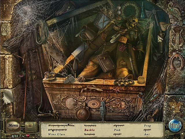 Dark Tales: Edgar Allan Poe's The Premature Burial Collector's Edition Screenshot