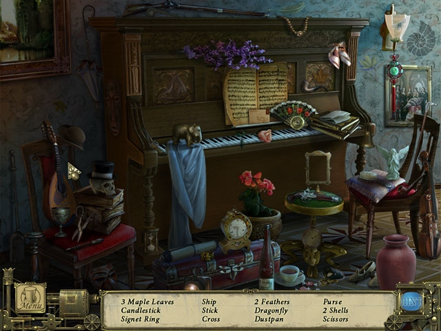 Dark Tales: Edgar Allan Poe`s Murders in the Rue Morgue Collector`s Edition Screenshot