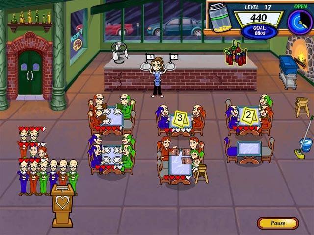 Diner Dash 2 Restaurant Rescue Screenshot