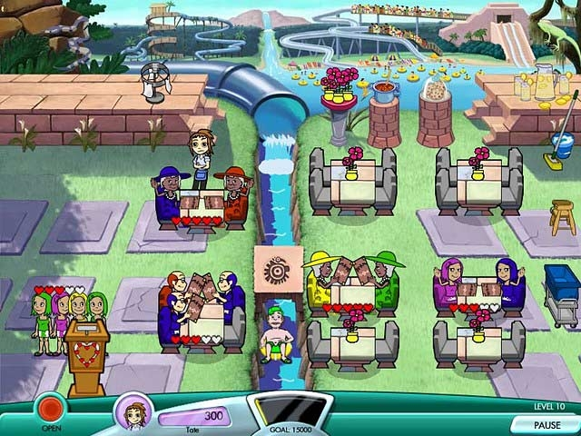 Diner Dash: Seasonal Snack Pack Screenshot