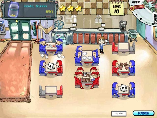 Diner Dash Screenshot