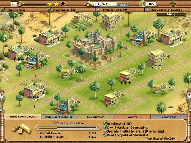 Empire Builder - Ancient Egypt Screenshot
