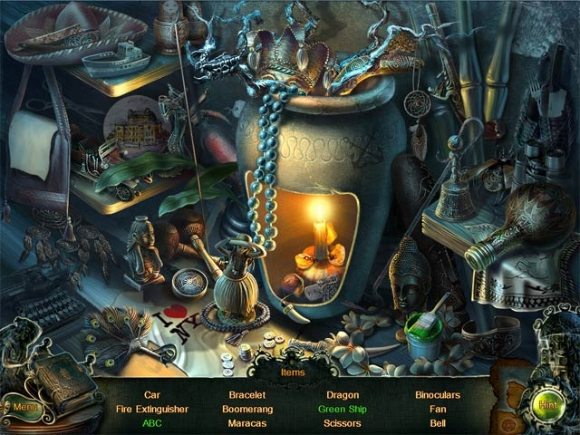 Enigma Agency: The Case of Shadows Collector's Edition Screenshot