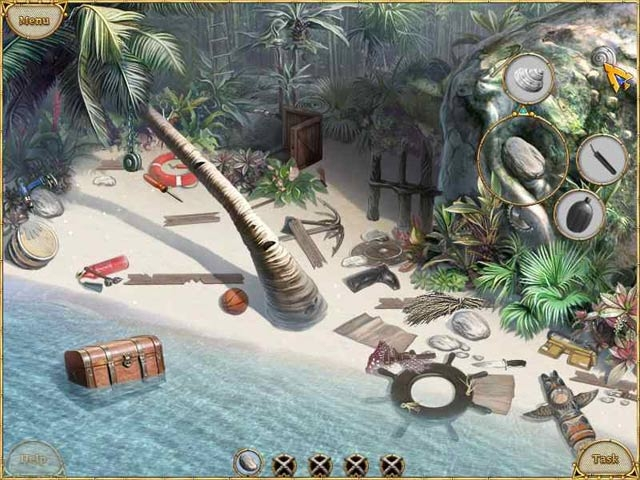 Escape from Lost Island Screenshot
