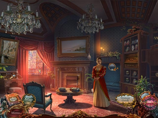European Mystery: The Face of Envy Collector's Edition Screenshot