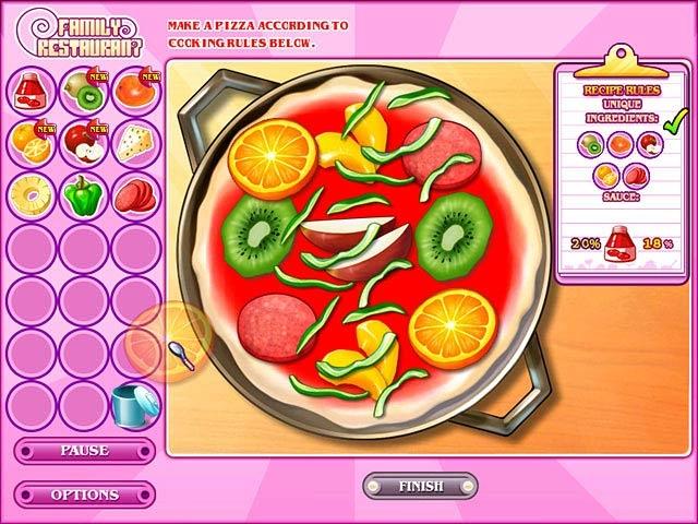 Family Restaurant Screenshot