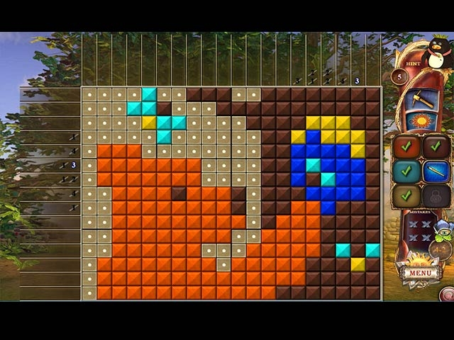 Fantasy Mosaics 19: Edge of the World Screenshot