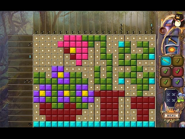 Fantasy Mosaics 20: Castle of Puzzles Screenshot