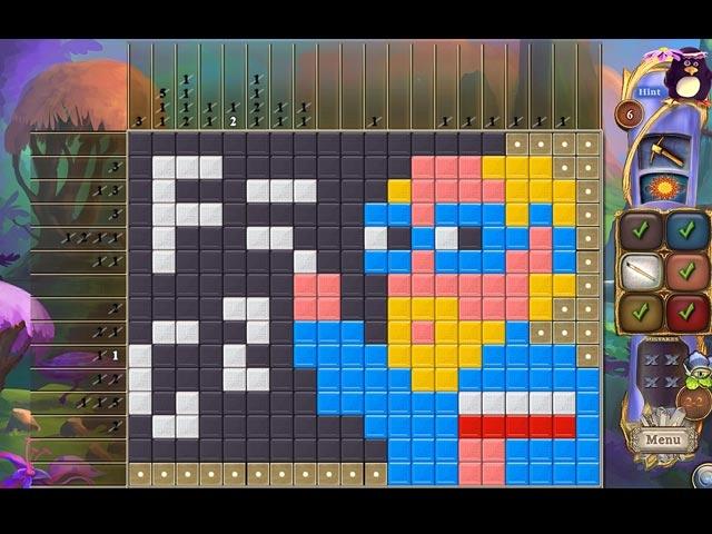 Fantasy Mosaics 30: Camping Trip Screenshot