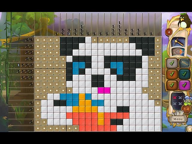 Fantasy Mosaics 34: Zen Garden Screenshot