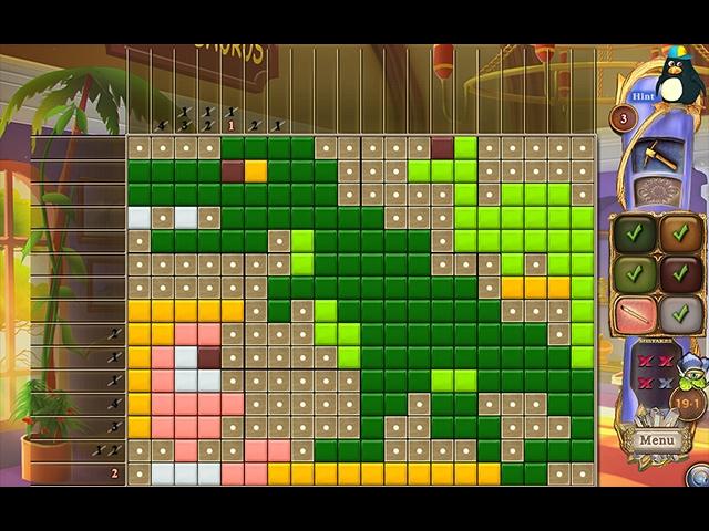 Fantasy Mosaics 35: Day at the Museum Screenshot