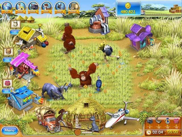 Farm Frenzy 3: Madagascar Screenshot