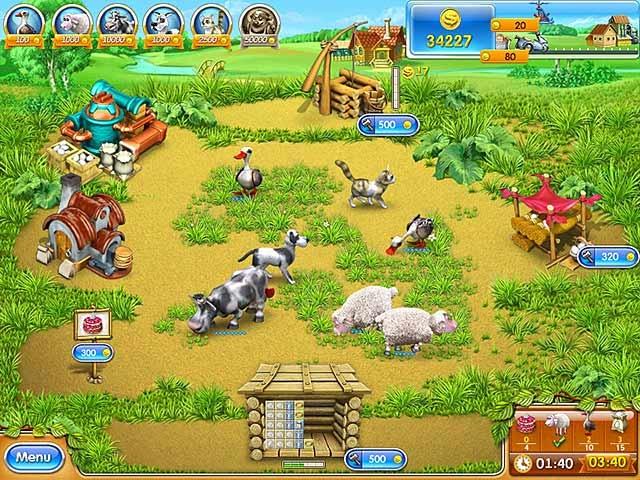 Farm Frenzy 3: Russian Village Screenshot