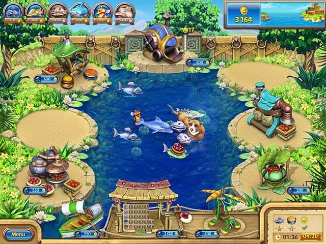 Farm Frenzy: Gone Fishing Screenshot