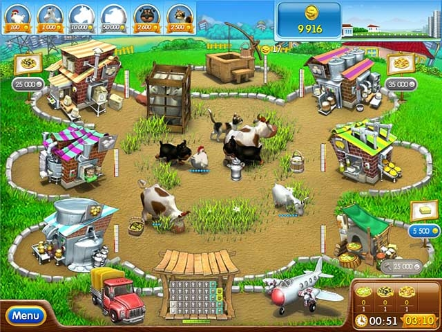 Farm Frenzy Pizza Party Screenshot
