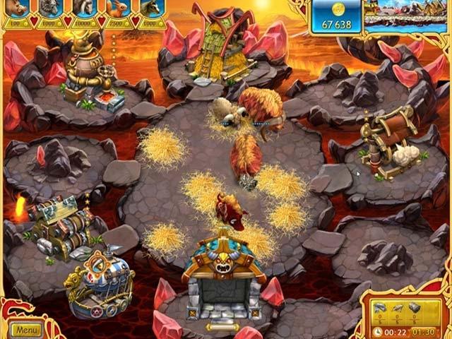 Farm Frenzy: Viking Heroes Screenshot