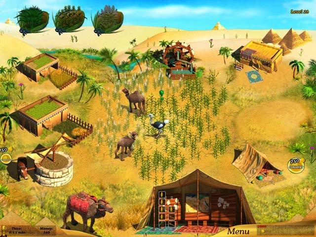 Farm Girl at the Nile Screenshot