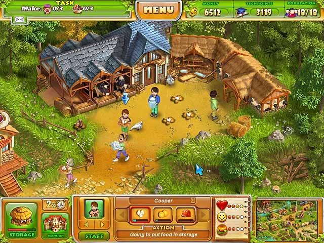 Farm Tribe 2 Screenshot