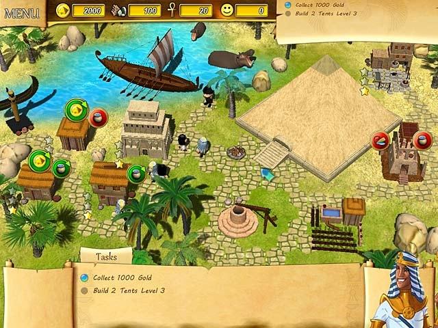 Fate of the Pharaoh Screenshot