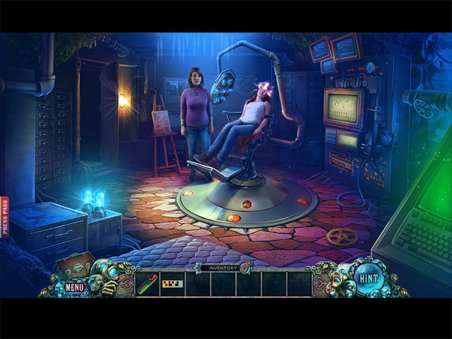 Fear for Sale: City of the Past Collector's Edition Screenshot