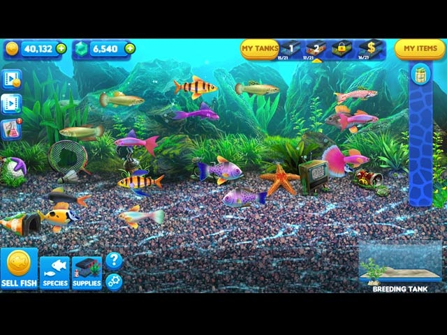 Fish Tycoon 2: Virtual Aquarium Screenshot