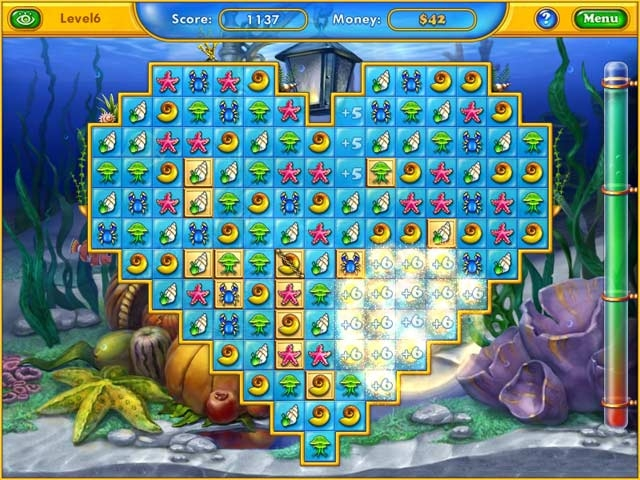 Fishdom: Seasons Under the Sea Screenshot