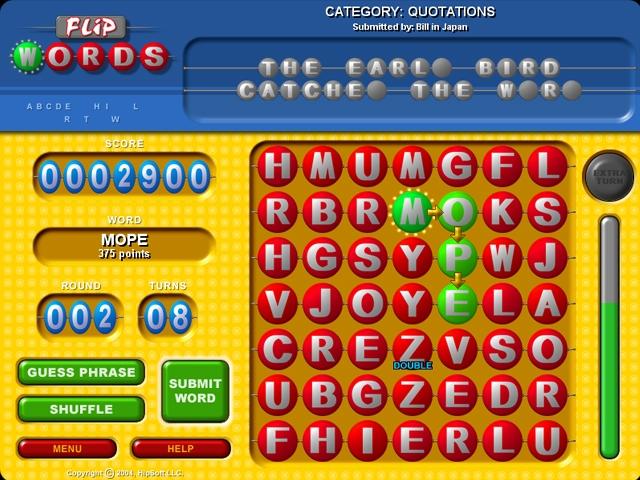 Flip Words Screenshot