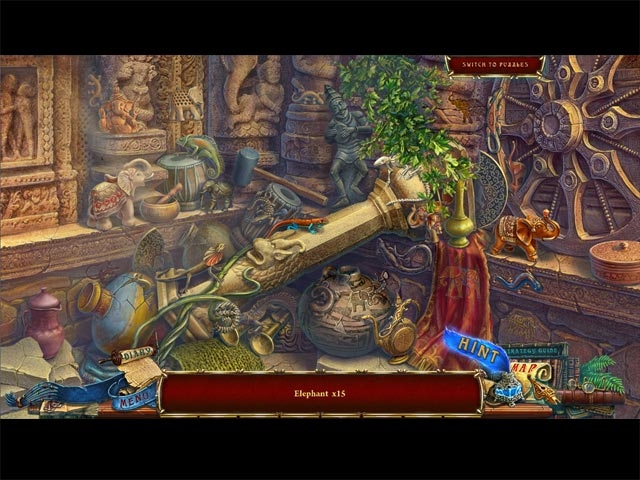 Forgotten Books: The Enchanted Crown Collector's Edition Screenshot
