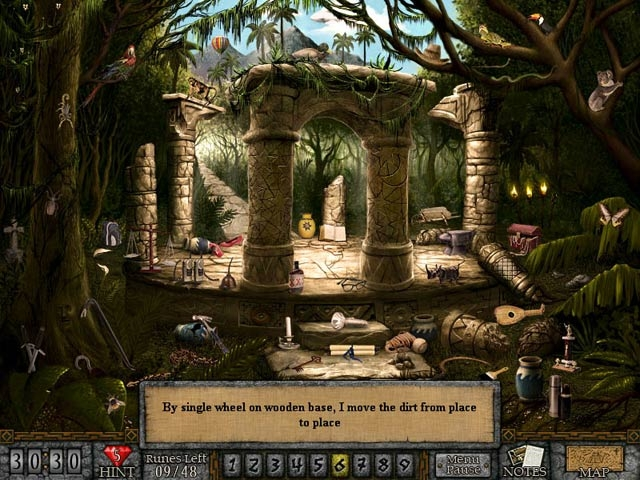 Forgotten Riddles - The Mayan Princess Screenshot