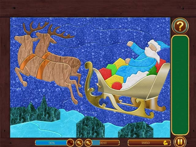 Frozen Patchworks Screenshot