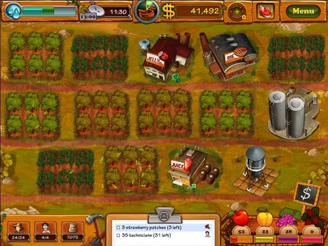 Fruits Inc. Screenshot