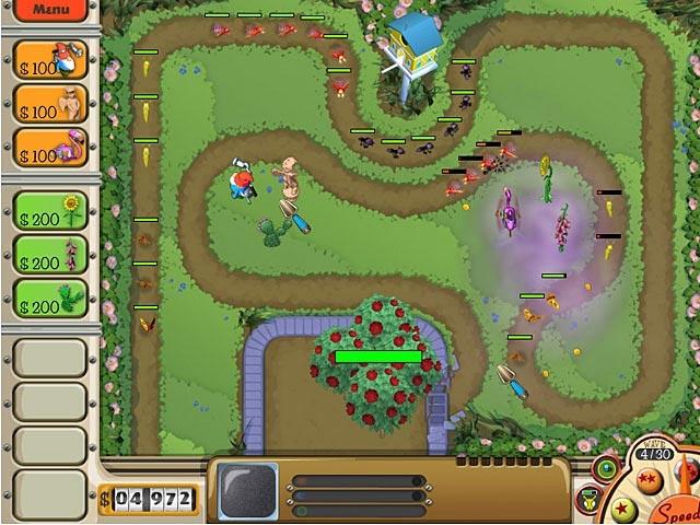 Garden Defense Screenshot
