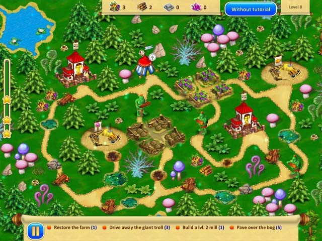 Gnomes Garden 3 Screenshot