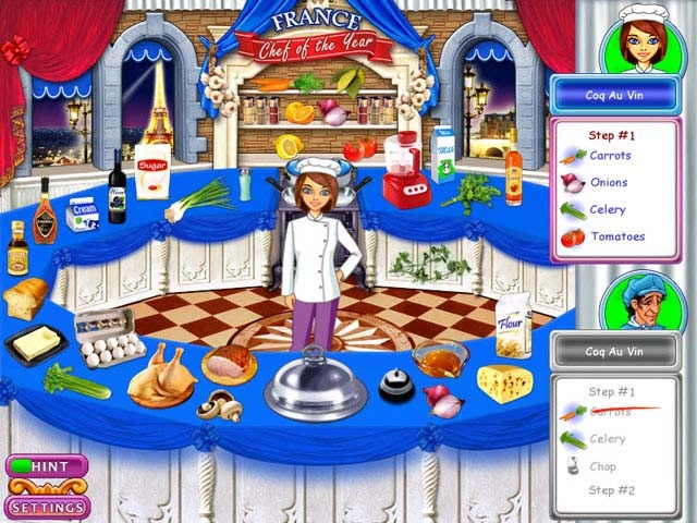 Go Go Gourmet: Chef of the Year Screenshot