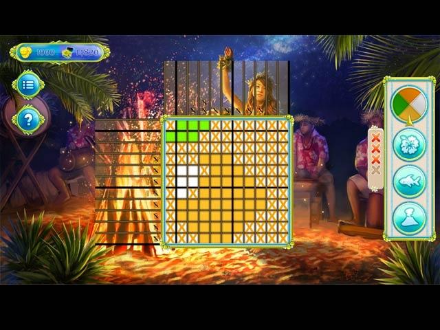 Griddlers: Tropical Delight Screenshot