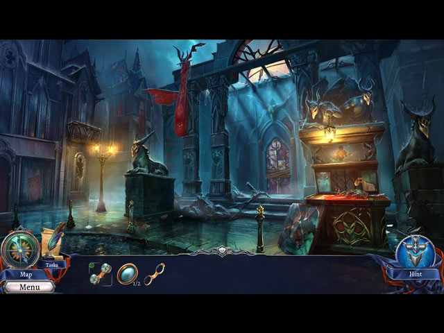 Grim Legends 3: The Dark City Screenshot