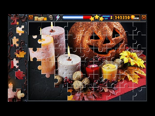 Halloween Jigsaw Puzzle Stash Screenshot