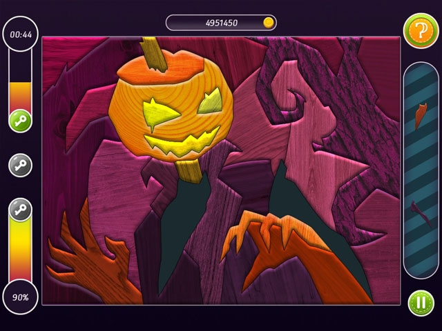 Halloween Patchworks: Trick or Treat! Screenshot