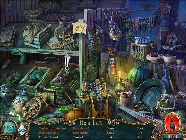 Haunted Legends: The Bronze Horseman Collector's Edition Screenshot