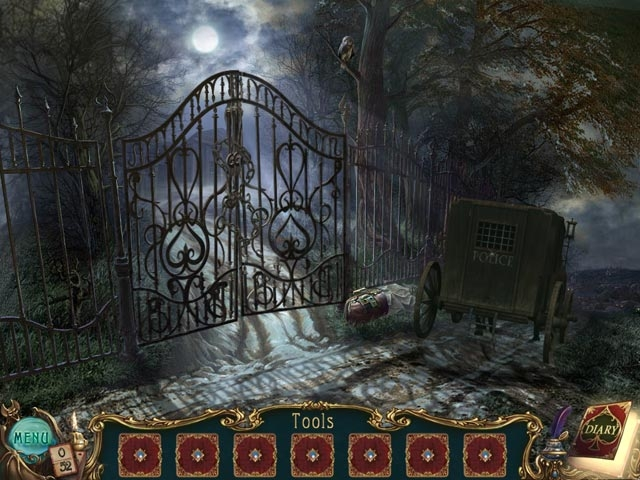 Haunted Legends: The Queen of Spades Collector's Edition Screenshot