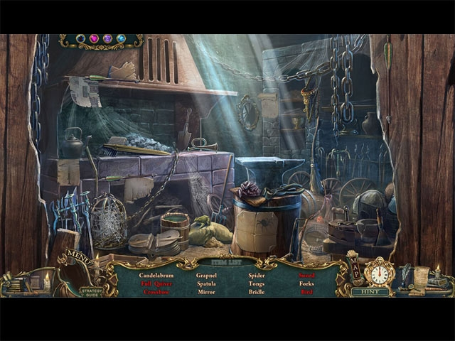 Haunted Legends: The Stone Guest Collector's Edition Screenshot