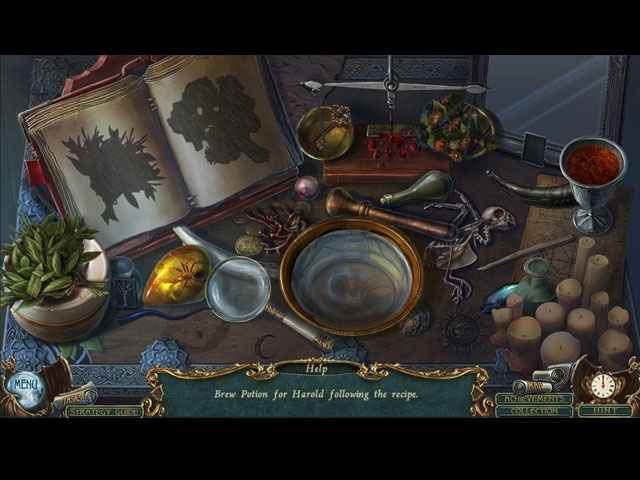 Haunted Legends: The Cursed Gift Collector's Edition Screenshot