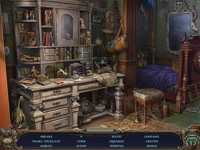 Haunted Manor: Queen of Death Collector's Edition Screenshot