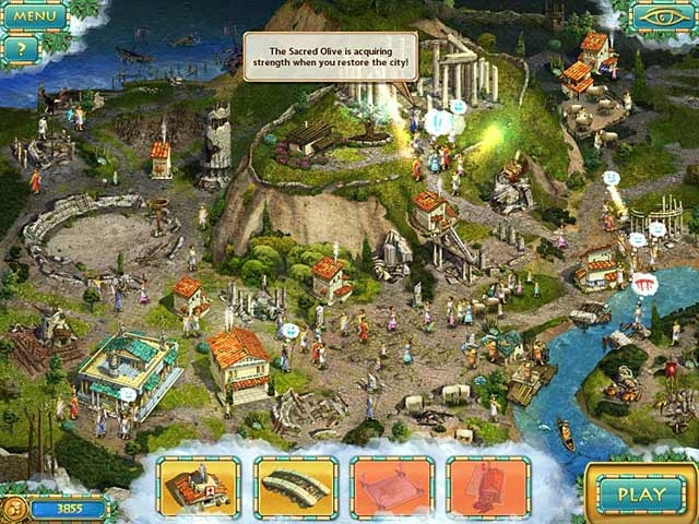Heroes of Hellas 3: Athens Screenshot