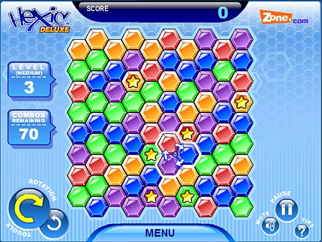 Hexic Deluxe Screenshot