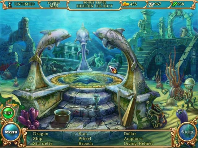 Hidden Wonders of the Depths 3: Atlantis Adventures Screenshot