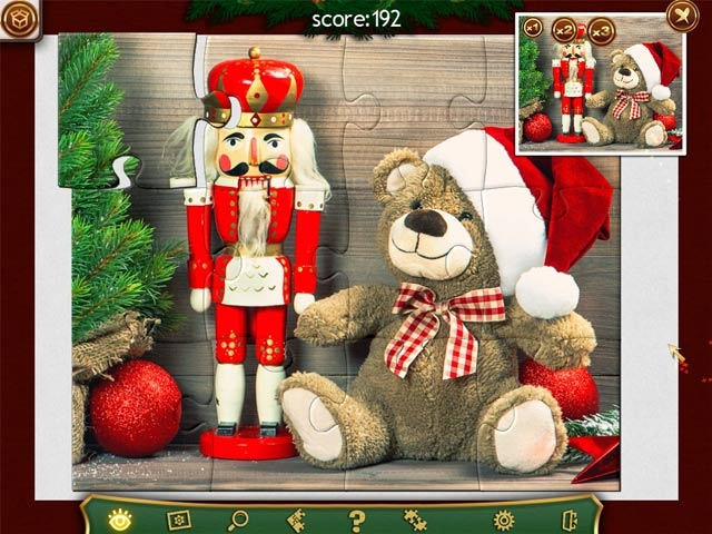 Holiday Jigsaw Christmas 2 Screenshot