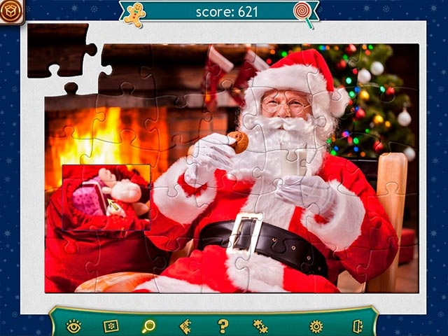 Holiday Jigsaw Christmas 4 Screenshot