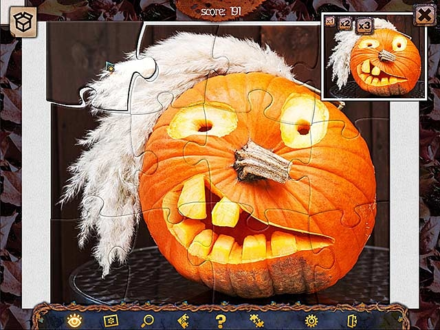 Holiday Jigsaw Halloween 2 Screenshot
