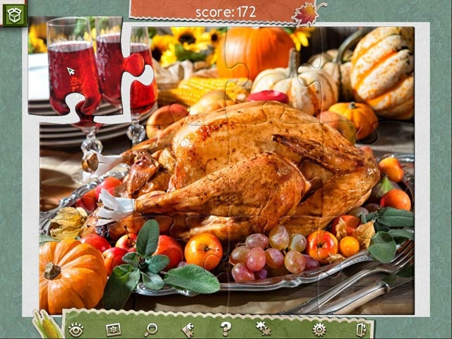 Holiday Jigsaw Thanksgiving Day 2 Screenshot